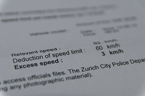 違反 通知 スピード